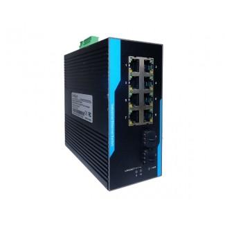 Индустриальный коммутатор CO-SW8G2F-P508UPS