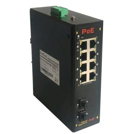 Индустриальный PoE коммутатор CO-PF-8GP2SFP-P509