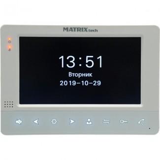 Видеодомофон MATRITech MT-MW7.0A-SD