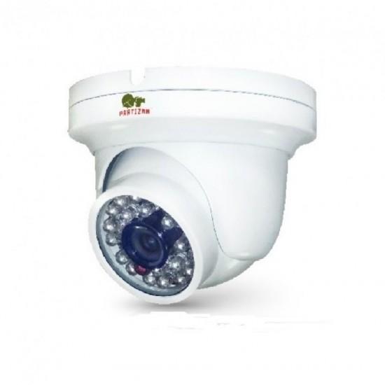 Купольная камера с фиксированным фокусом и ИК подсветкой IPD-2SP-IR SE v2.4 Cloud