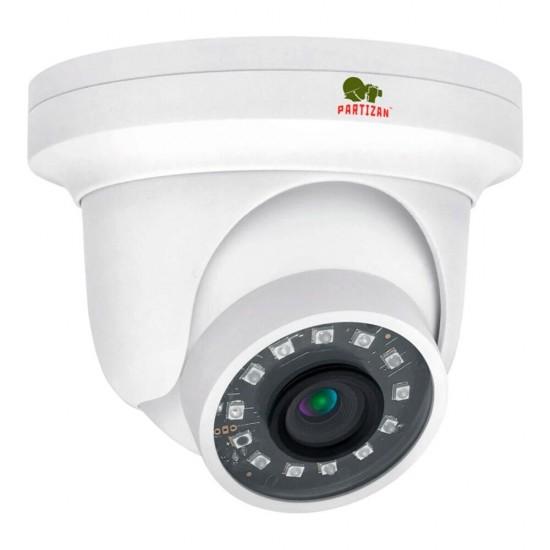 Купольная камера с фиксированным фокусом и ИК подсветкой  IPD-2SP-IR v3.2 Cloud