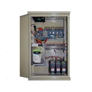 16-ти канальное  комплексное устройство видеофиксации CO-BOX216HD