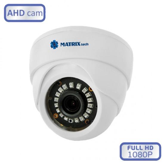 Купольная внутренняя камера MatrixTech MT-DW1080AHD20XE (3.6)