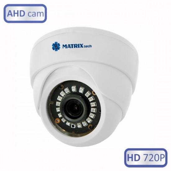 Купольная внутренняя камера MATRIXTech MT-DW720AHD20X (2.8)