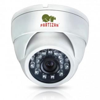 Купольная камера с фиксированным фокусом с ИК подсветкой CDM-233H-IR HD 3.4
