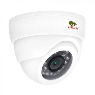 Купольная камера c фиксированным фокусом с ИК подсветкой CDM-333H-IR FullHD Metal 4.2