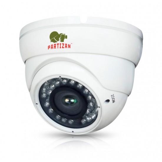 Купольная вариофокальная камера с ИК подсветкой CDM-VF37H-IR FullHD Kit