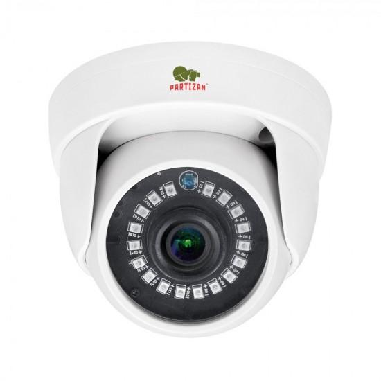 Купольная камера с фиксированным фокусом и ИК подсветкой  IPD-5SP-IR SE 3.0