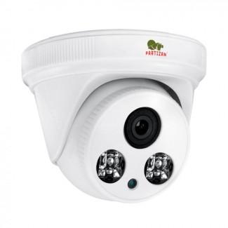 Купольная камера с фиксированным фокусом и ИК подсветкой  IPD-2SP-IR SE v3.2 Cloud