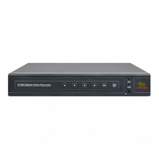 Гибридный 8-канальный видеорегистратор ADM-88V FullHD 5.1